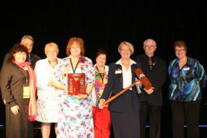 Travel Gavel Award presented