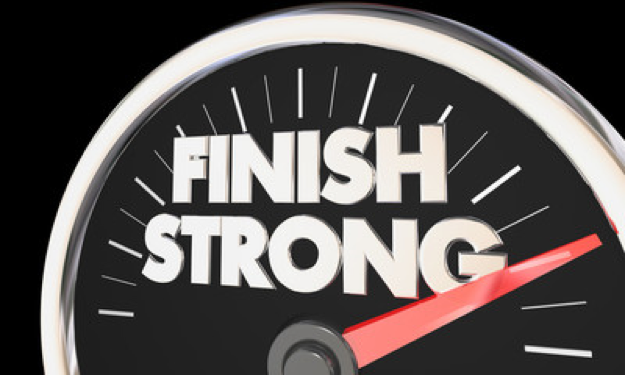 Finish Strong, Start Strong