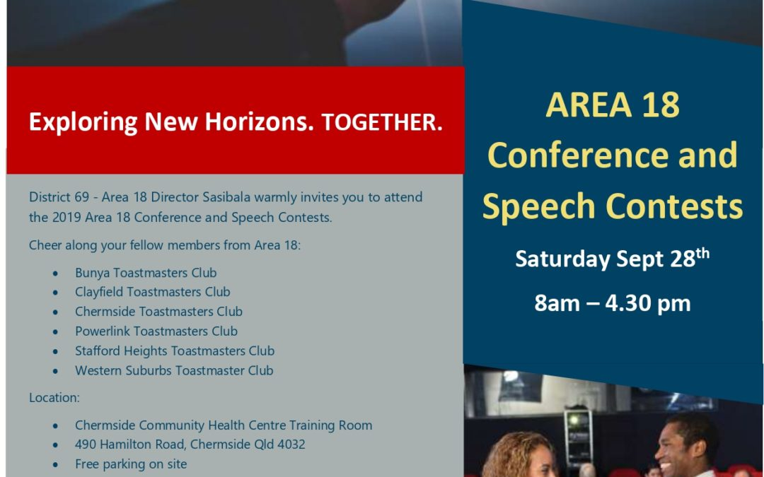 Area 18 conference