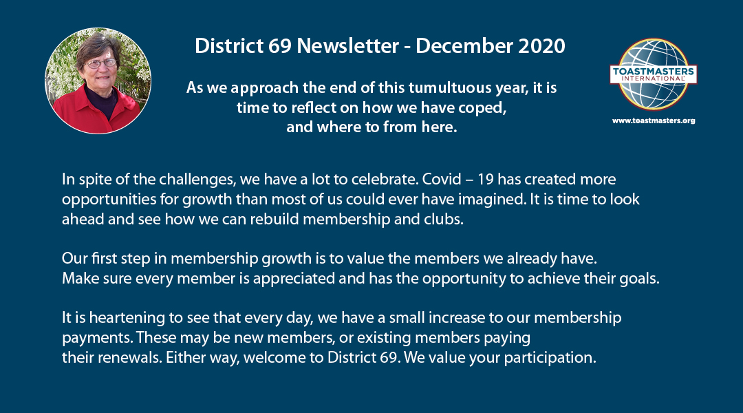 District 69 Newsletter