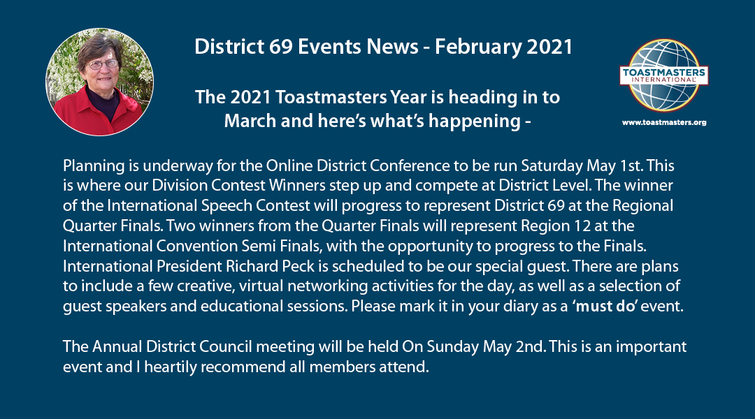 District 69 Events News