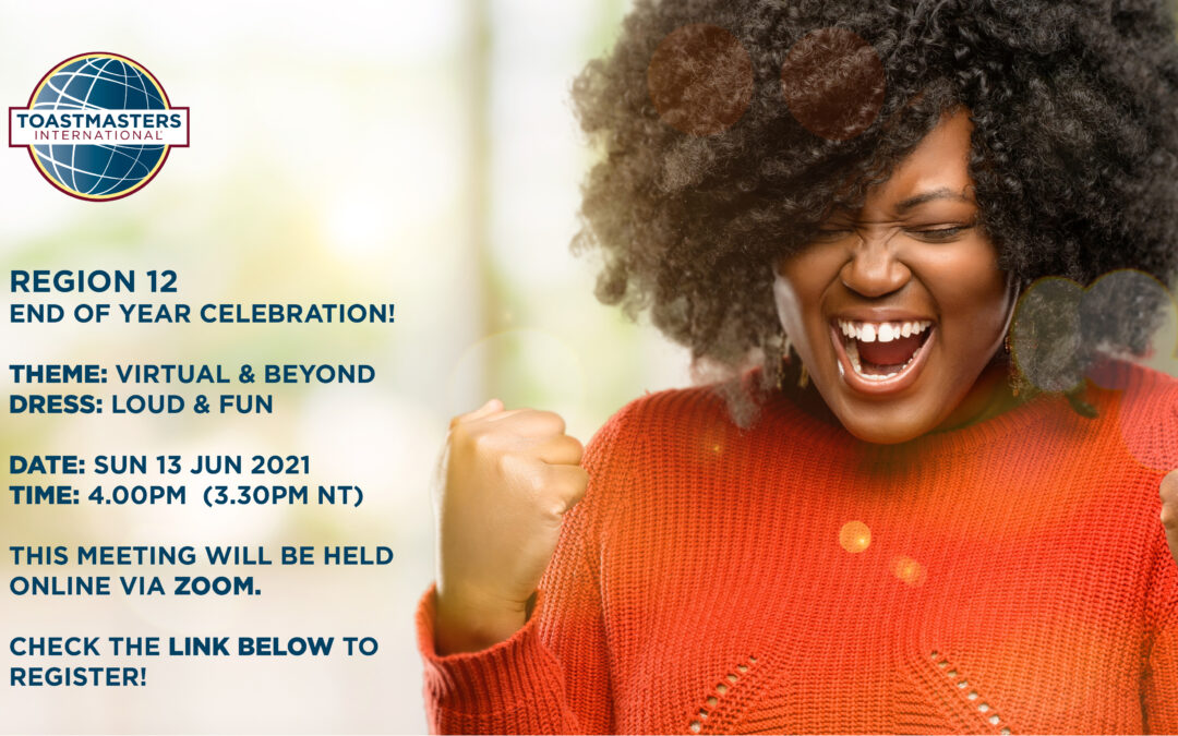 Region 12 End of Year Celebration!